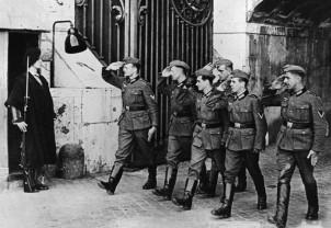 швейцарские гвардейцы во время второй мировой войны