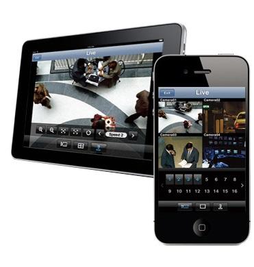 контроль работы с мобильного телефона или планшета